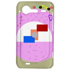 Decorative abstract circle HTC Incredible S Hardshell Case
