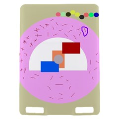 Decorative abstract circle Kindle Touch 3G