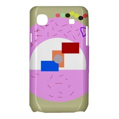 Decorative abstract circle Samsung Galaxy SL i9003 Hardshell Case