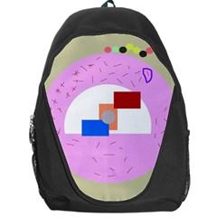 Decorative abstract circle Backpack Bag