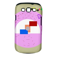 Decorative abstract circle Samsung Galaxy S III Classic Hardshell Case (PC+Silicone)