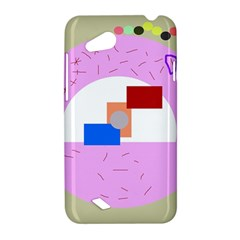 Decorative abstract circle HTC Desire VC (T328D) Hardshell Case