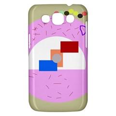 Decorative abstract circle Samsung Galaxy Win I8550 Hardshell Case
