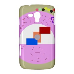 Decorative abstract circle Samsung Galaxy Duos I8262 Hardshell Case