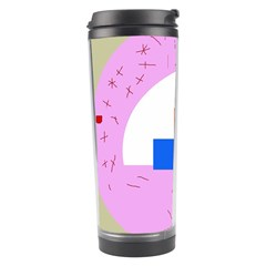 Decorative abstract circle Travel Tumbler