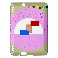 Decorative abstract circle Kindle Fire HDX Hardshell Case