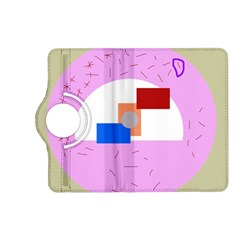 Decorative abstract circle Kindle Fire HD (2013) Flip 360 Case
