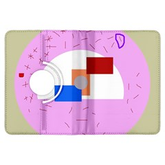 Decorative abstract circle Kindle Fire HDX Flip 360 Case