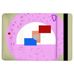 Decorative abstract circle iPad Air 2 Flip
