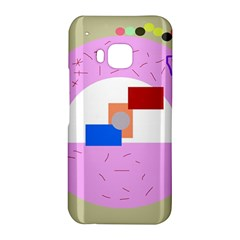 Decorative abstract circle HTC One M9 Hardshell Case