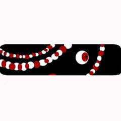 Red pearls Large Bar Mats