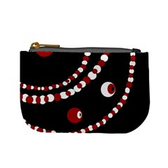 Red pearls Mini Coin Purses