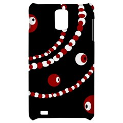 Red pearls Samsung Infuse 4G Hardshell Case