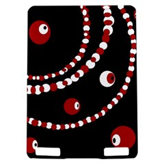 Red pearls Kindle Touch 3G
