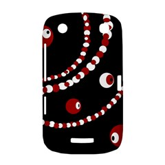 Red pearls BlackBerry Curve 9380