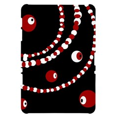Red pearls Samsung Galaxy Tab 10.1  P7500 Hardshell Case