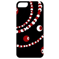 Red pearls Apple iPhone 5 Classic Hardshell Case