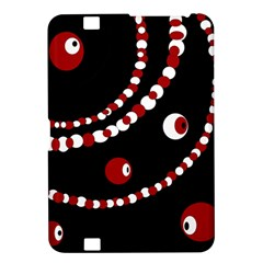 Red pearls Kindle Fire HD 8.9
