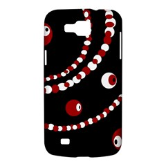 Red pearls Samsung Galaxy Premier I9260 Hardshell Case