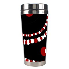 Red pearls Stainless Steel Travel Tumblers
