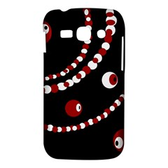 Red pearls Samsung Galaxy Ace 3 S7272 Hardshell Case