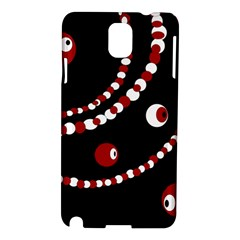 Red pearls Samsung Galaxy Note 3 N9005 Hardshell Case