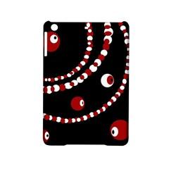 Red pearls iPad Mini 2 Hardshell Cases