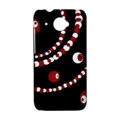 Red pearls HTC Desire 601 Hardshell Case
