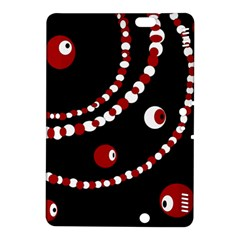 Red pearls Kindle Fire HDX 8.9  Hardshell Case
