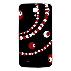 Red pearls Samsung Galaxy Mega I9200 Hardshell Back Case