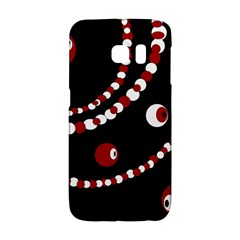 Red pearls Galaxy S6 Edge