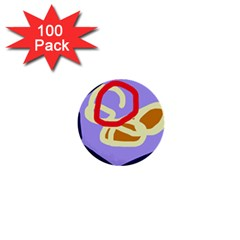 Abstract circle 1  Mini Buttons (100 pack)