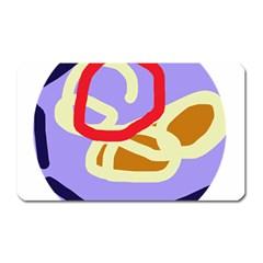 Abstract circle Magnet (Rectangular)