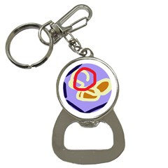 Abstract circle Bottle Opener Key Chains