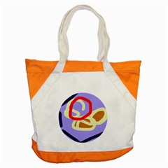 Abstract circle Accent Tote Bag