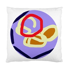 Abstract circle Standard Cushion Case (Two Sides)
