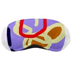 Abstract circle Sleeping Masks