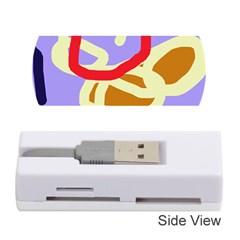 Abstract circle Memory Card Reader (Stick)