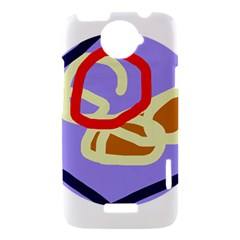 Abstract circle HTC One X Hardshell Case
