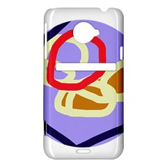 Abstract circle HTC Evo 4G LTE Hardshell Case