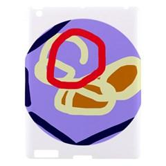 Abstract circle Apple iPad 3/4 Hardshell Case