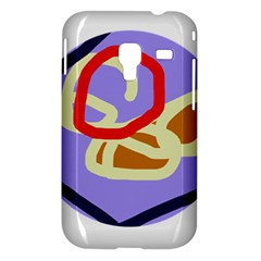 Abstract circle Samsung Galaxy Ace Plus S7500 Hardshell Case