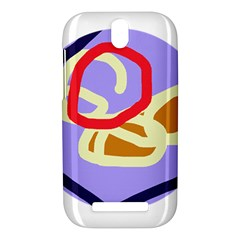 Abstract circle HTC One SV Hardshell Case