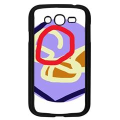 Abstract circle Samsung Galaxy Grand DUOS I9082 Case (Black)