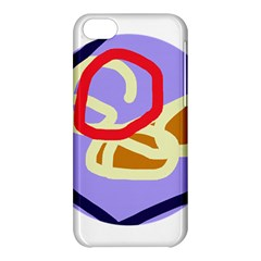 Abstract circle Apple iPhone 5C Hardshell Case