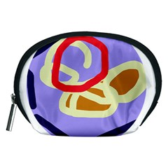 Abstract circle Accessory Pouches (Medium)