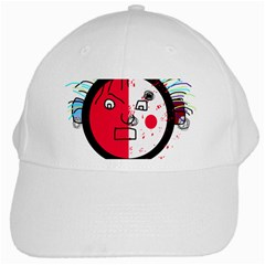 Angry transparent face White Cap