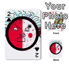 Angry transparent face Playing Cards 54 Designs