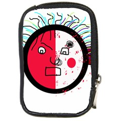 Angry transparent face Compact Camera Cases
