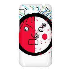 Angry transparent face HTC Rhyme